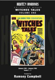 Harvey Horrors Collected Works - Witches Tales (Vol 1)
